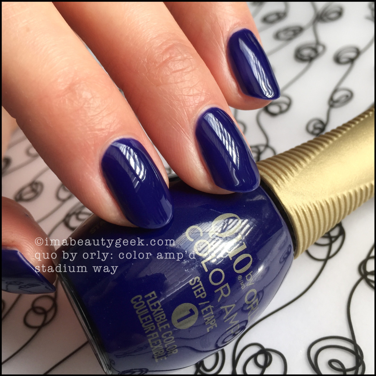 Quo Color Ampd Stadium Way_Quo by Orly Epix Swatches