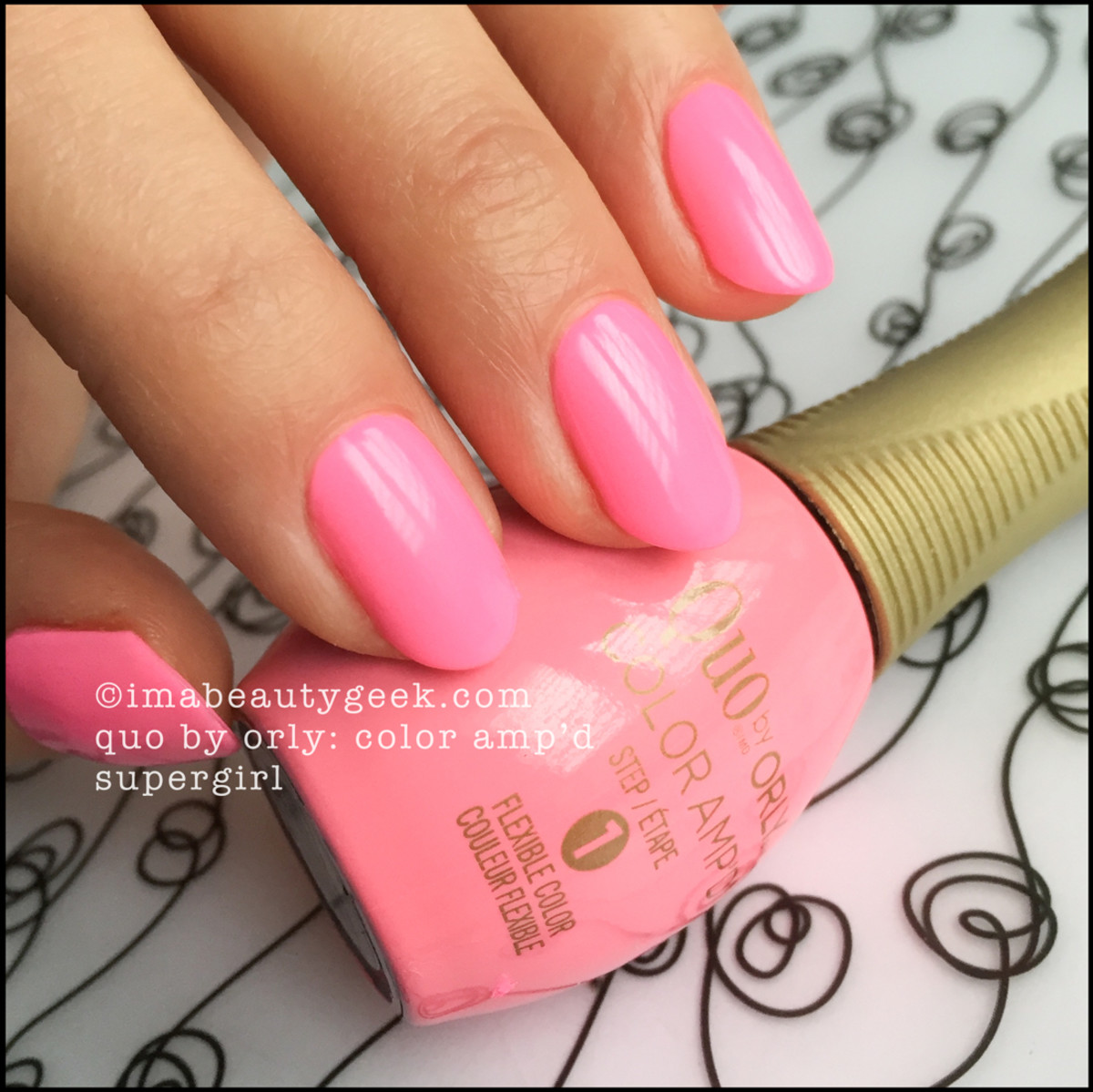 Quo by Orly SuperGirl_Orly Color Ampd Epix Swatches