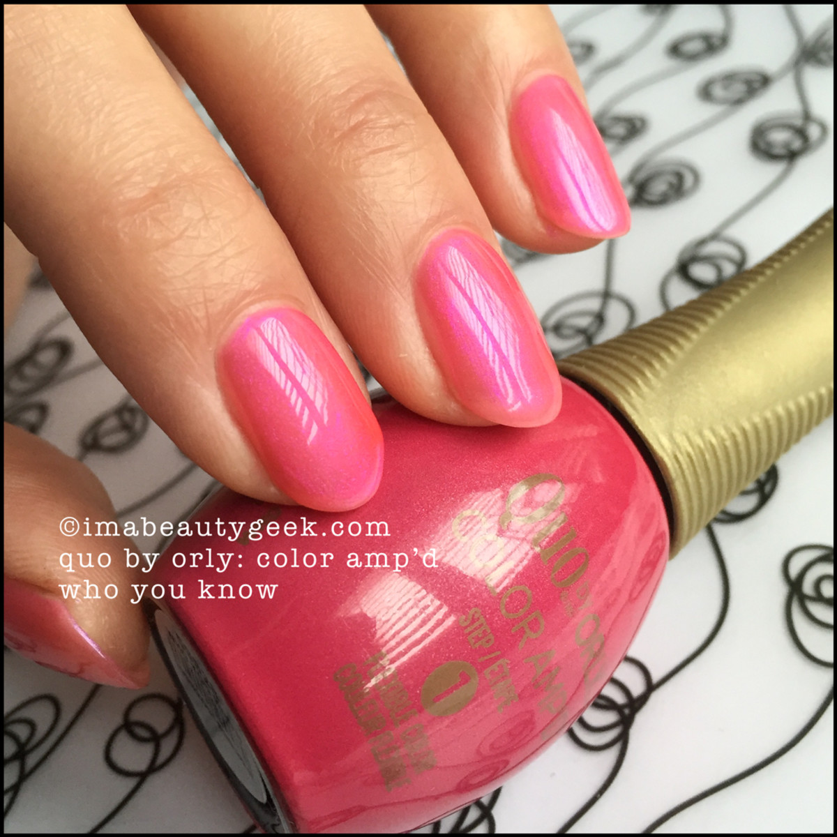 Quo by Orly Who You Know_Color Ampd Orly Epix