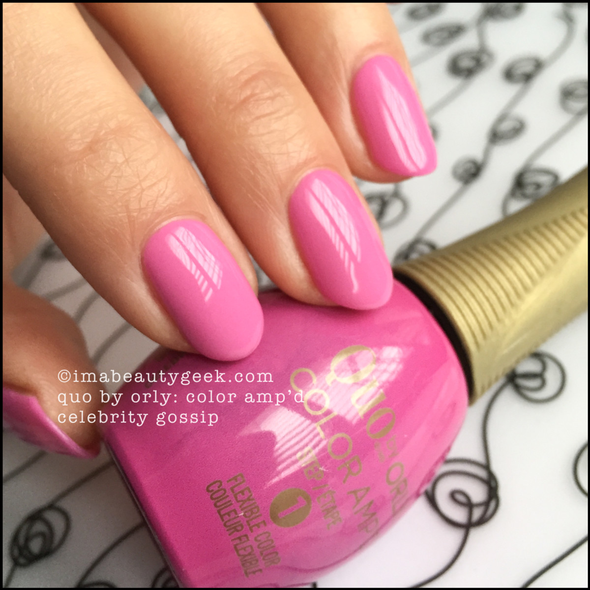 Quo by Orly Celebrity Gossip_Quo by Orly Color Ampd Swatches
