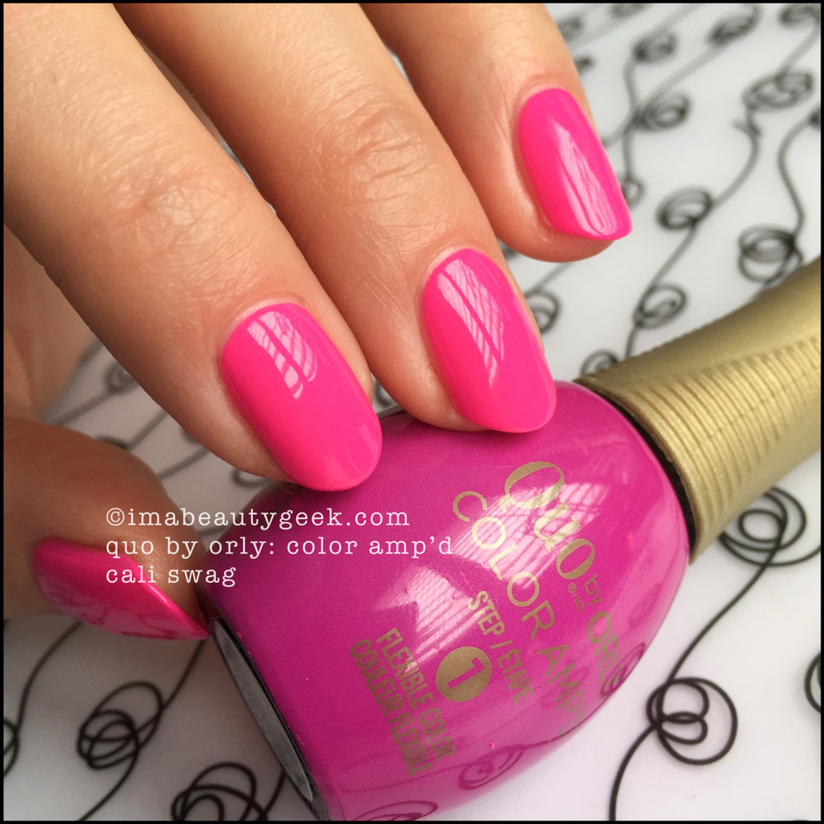 Quo by Orly Cali Swag_Quo Color Ampd Orly Epix Swatches