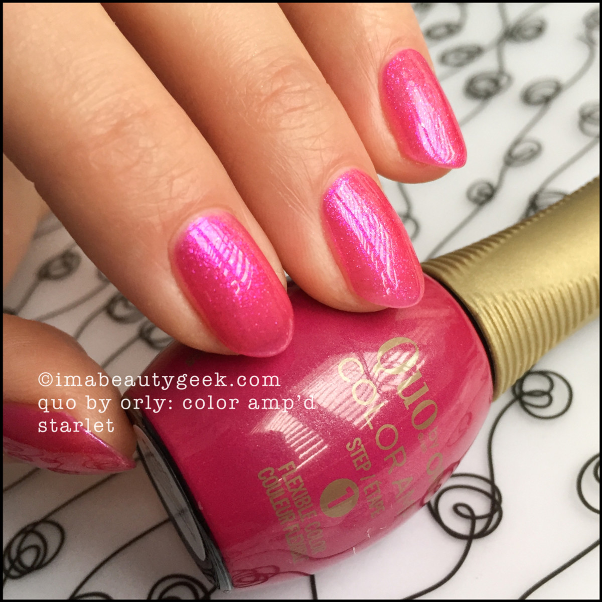 Quo by Orly Color Ampd Starlet Orly Epix Swatches