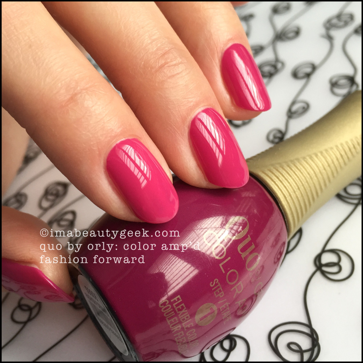 Quo by Ory Fashion Forward_Color Ampd Orly Epix