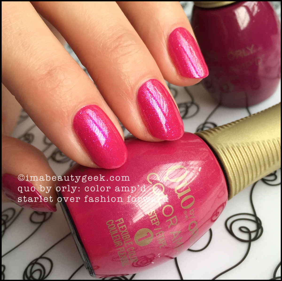 Quo by Orly Starlet over Fashion Forward_Quo Color Ampd Orly Epix