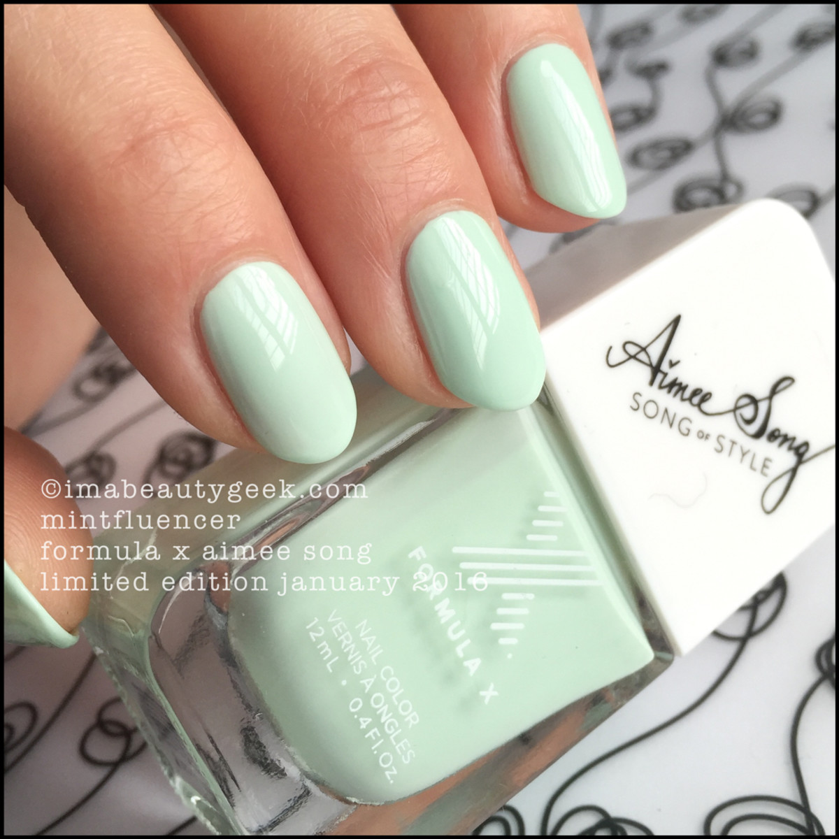 Formula X Mintfluencer_Formula X Nail Aimee Song LE January 2016
