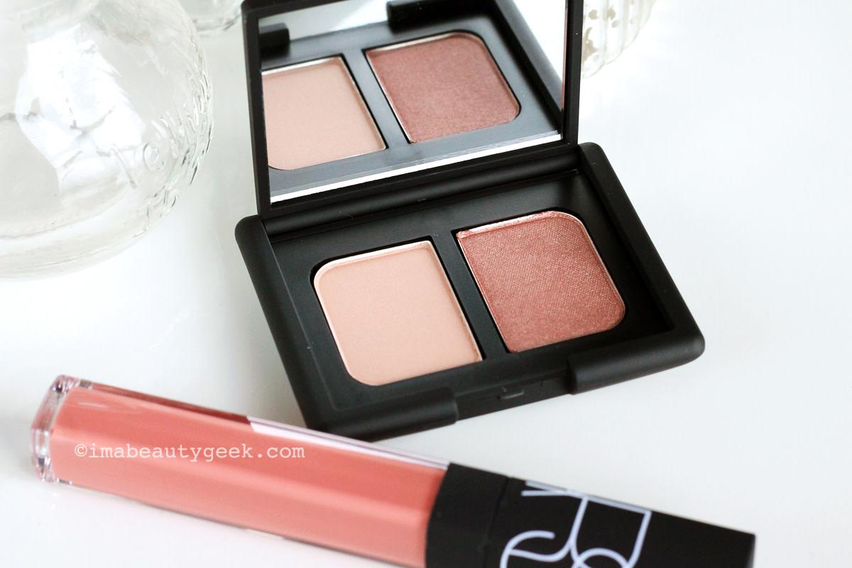 NARS Spring 2016: Hammamet Eyeshadow Duo and Vida Loca lip gloss (both limited edition)