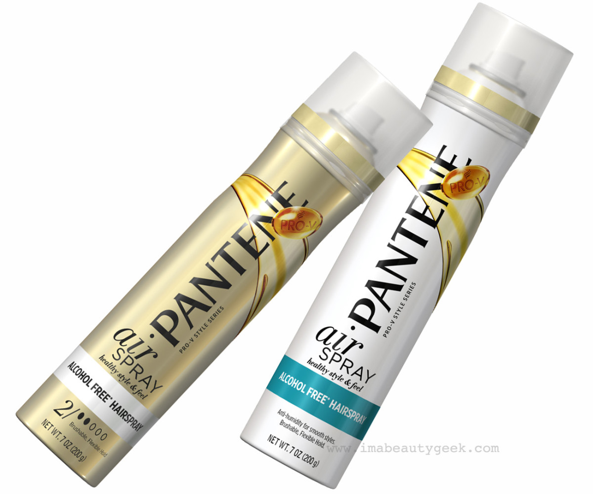 Pantene Airspray Level 2 Hold and Pantene Smooth Airspray
