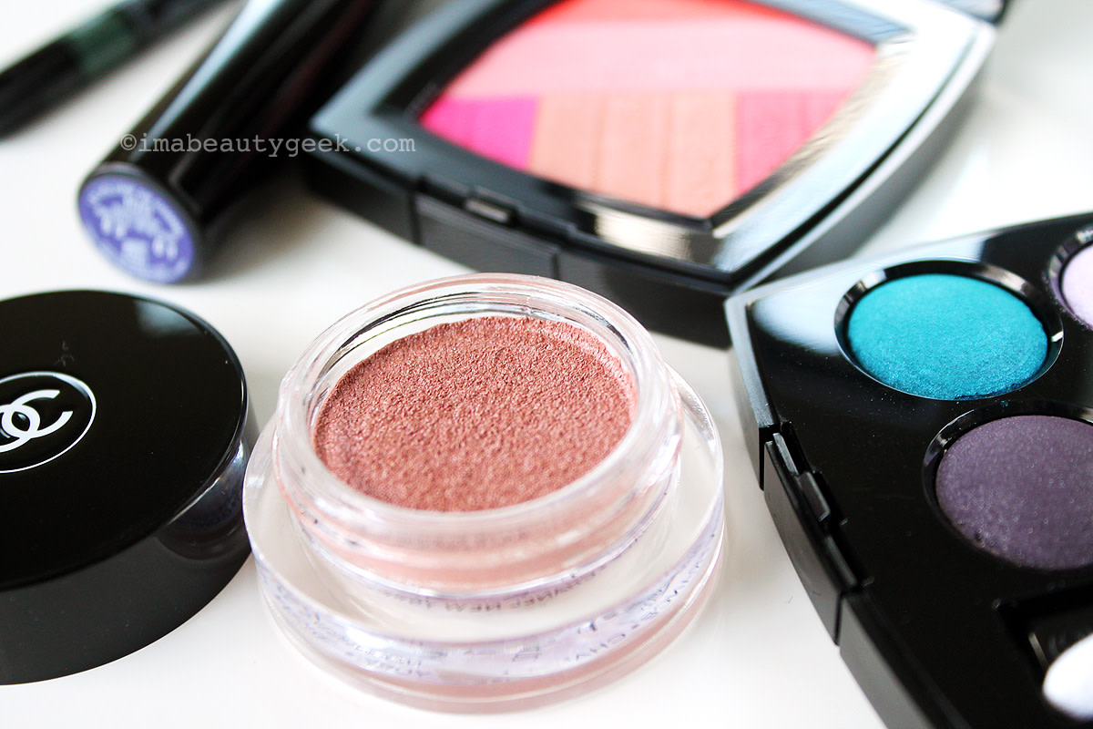 Chanel Spring 2016 LA Sunrise: Illusion d'Ombre shadow Moonlight Pink