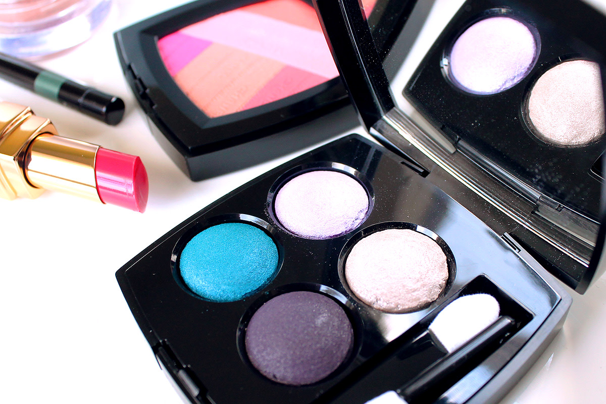 Chanel Spring 2016 Les 4 Ombres eyeshadow quad in Beverly Hills