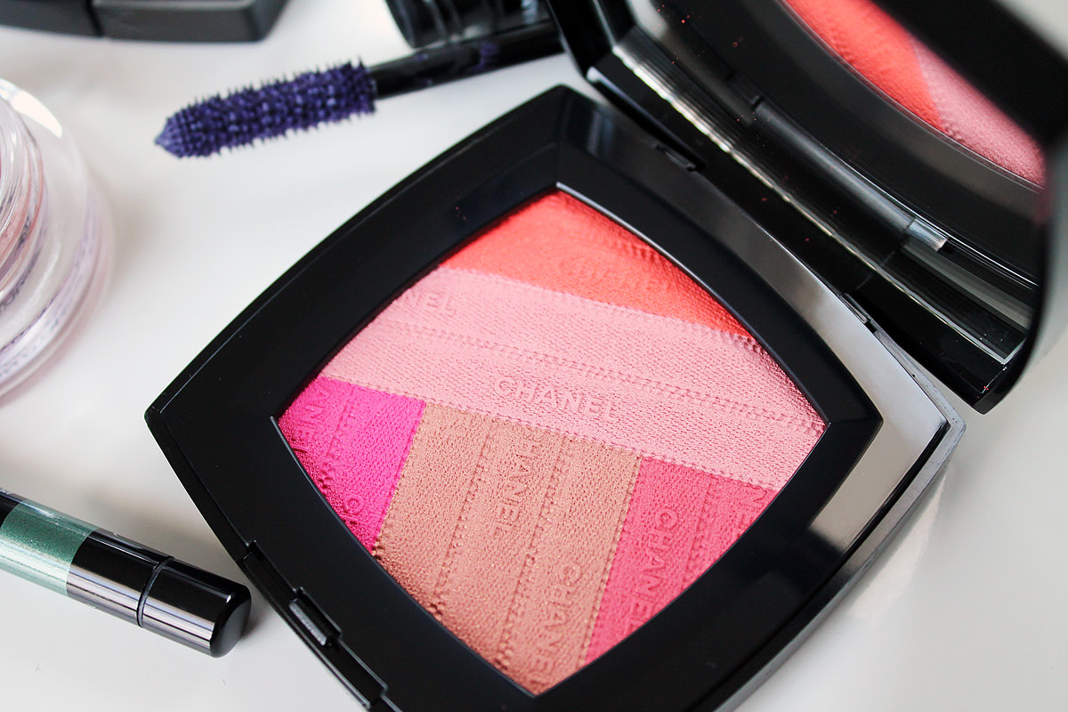 Chanel Spring 2016 LA Sunrise Sunkiss Ribbon face palette