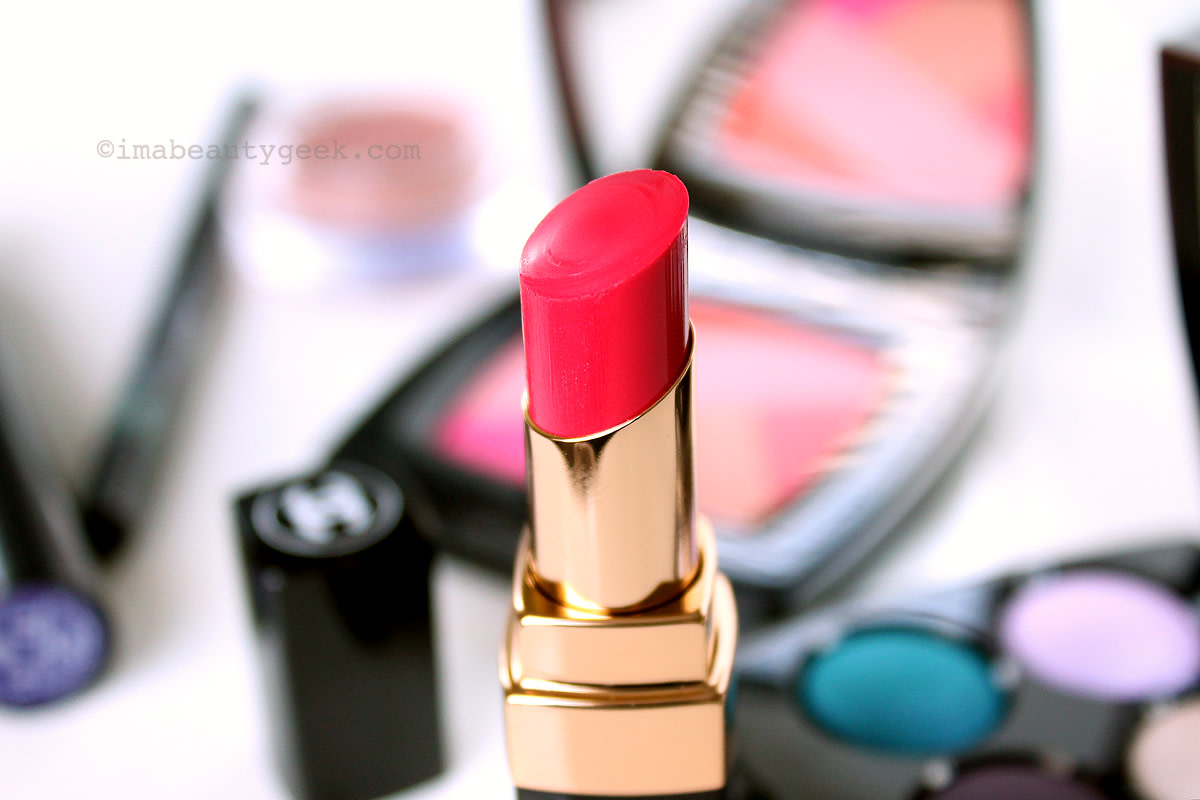 Chanel Spring 2016 LA Sunrise collection: Rouge Coco Shine in Energy