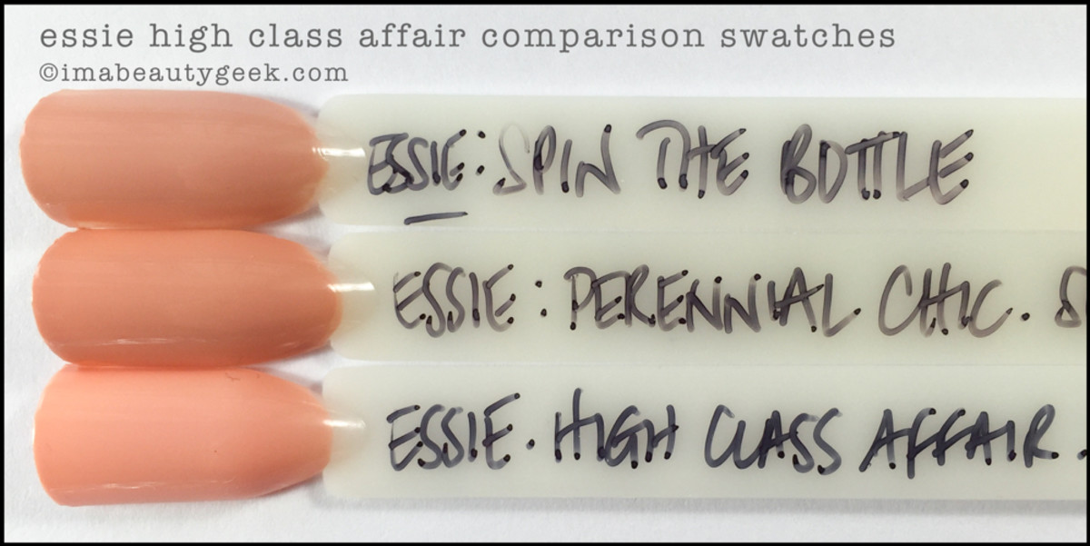 Essie High Class Affair Comparison Swatches_Essie Spring 2016 Review