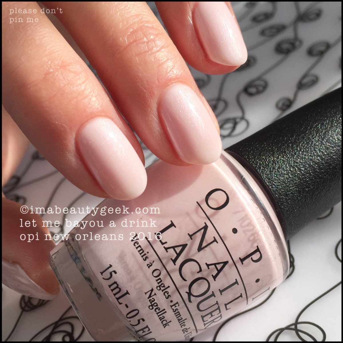 OPI Let Me Bayou A Drink_OPI New Orleans Swatches Review 2016