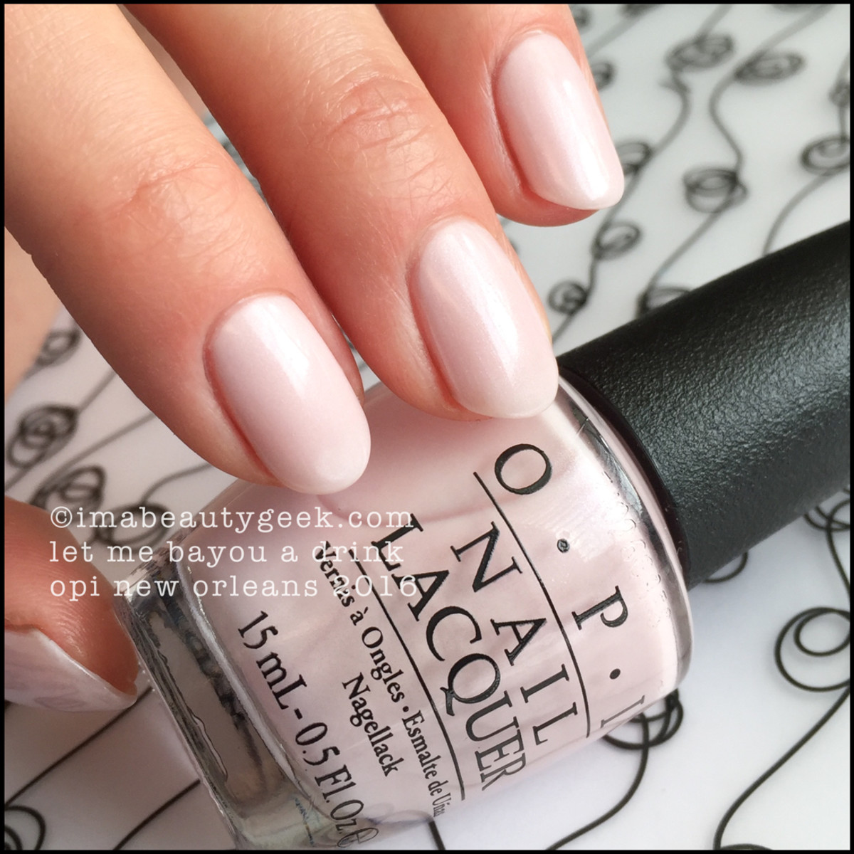 OPI Let Me Bayou a Drink_OPI New Orleans 2016 Collection Swatches Review