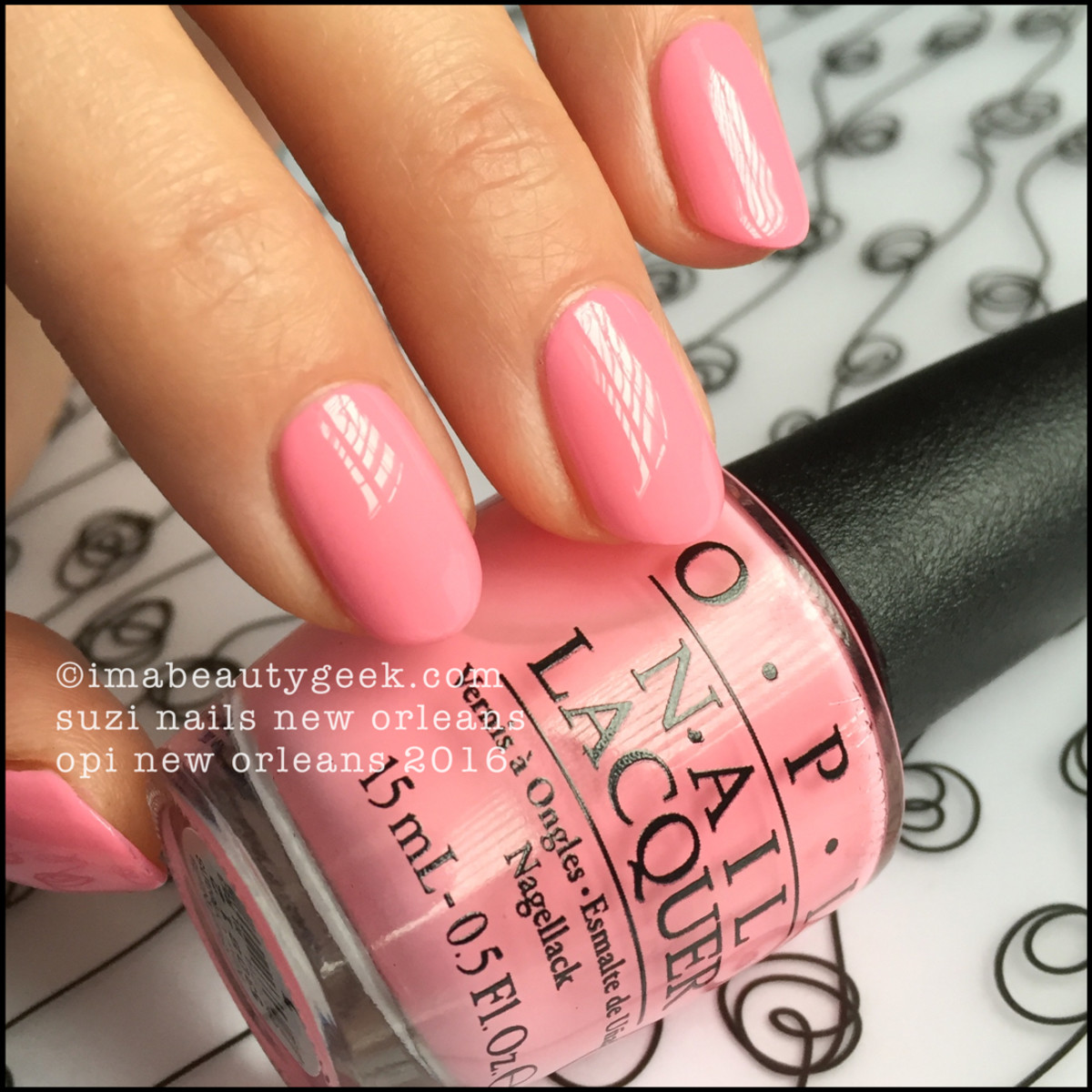 OPI Suzi Nails New Orleans_OPI New Orleans Collection Swatches Review