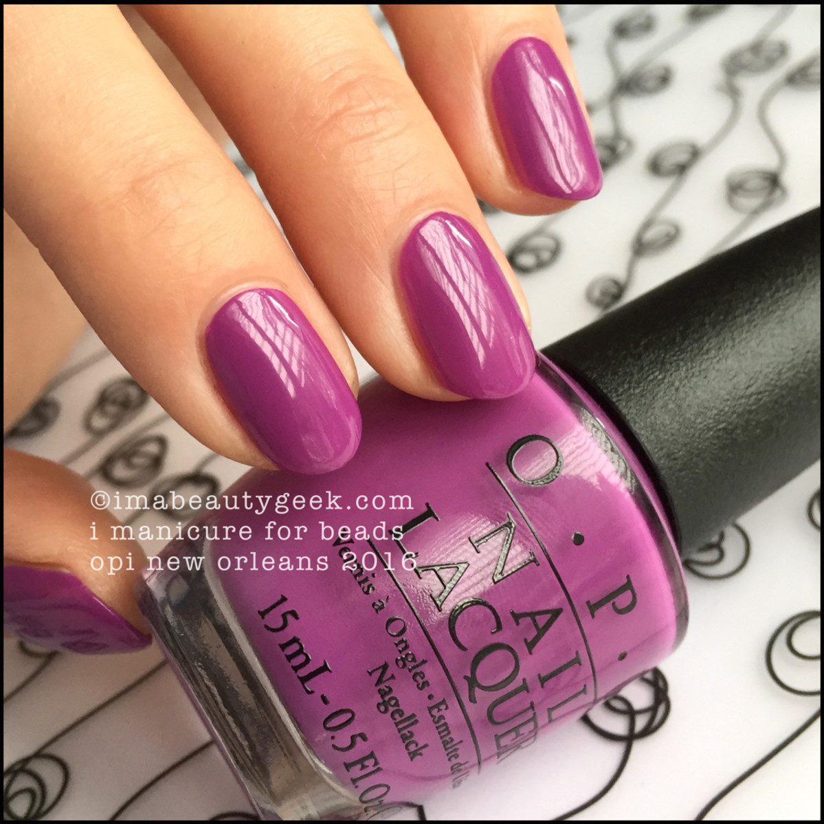 OPI I Manicure for Beads_OPI New Orleans 2016 Collection Swatches Review
