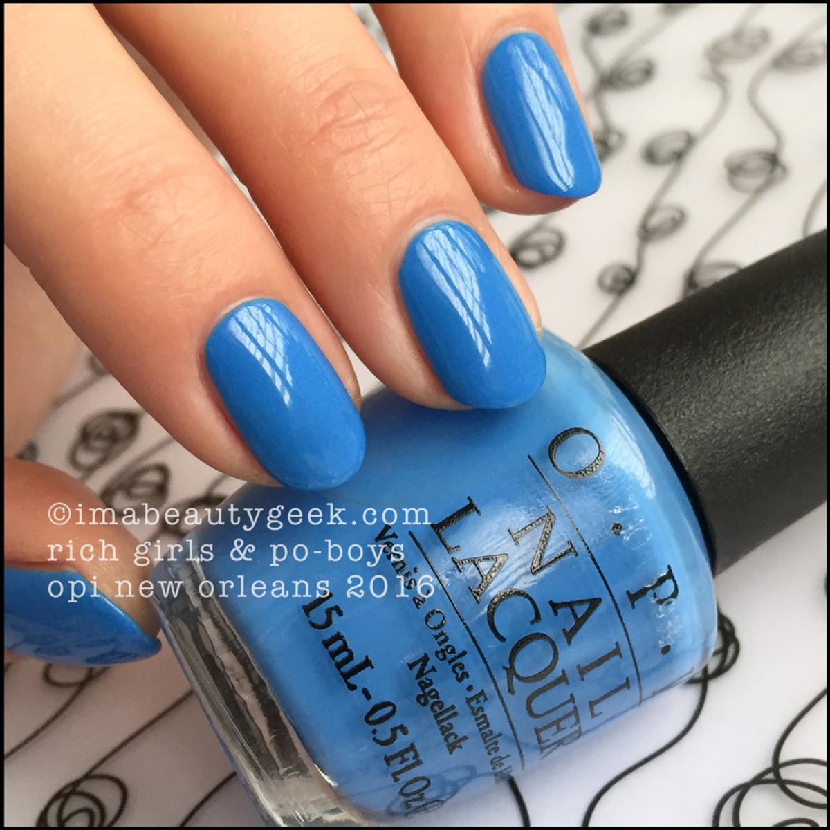 OPI Rich Girls Po Boys_OPI New Orleans 2016 Collection Swatches Review