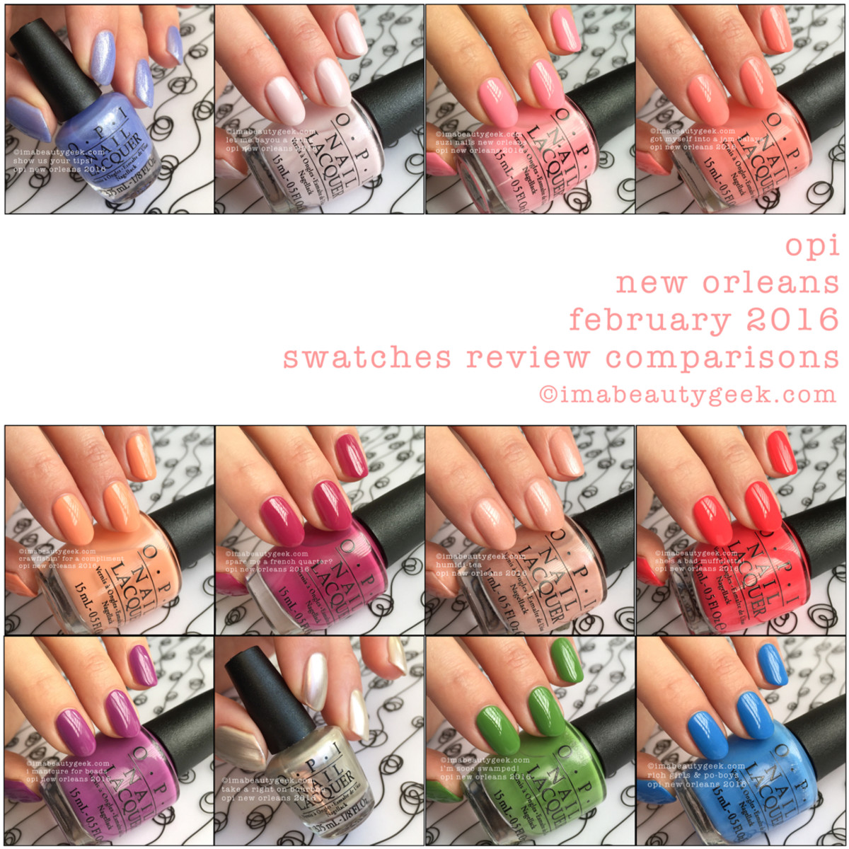 OPI New Orleans 2016 Beautygeeks Composite