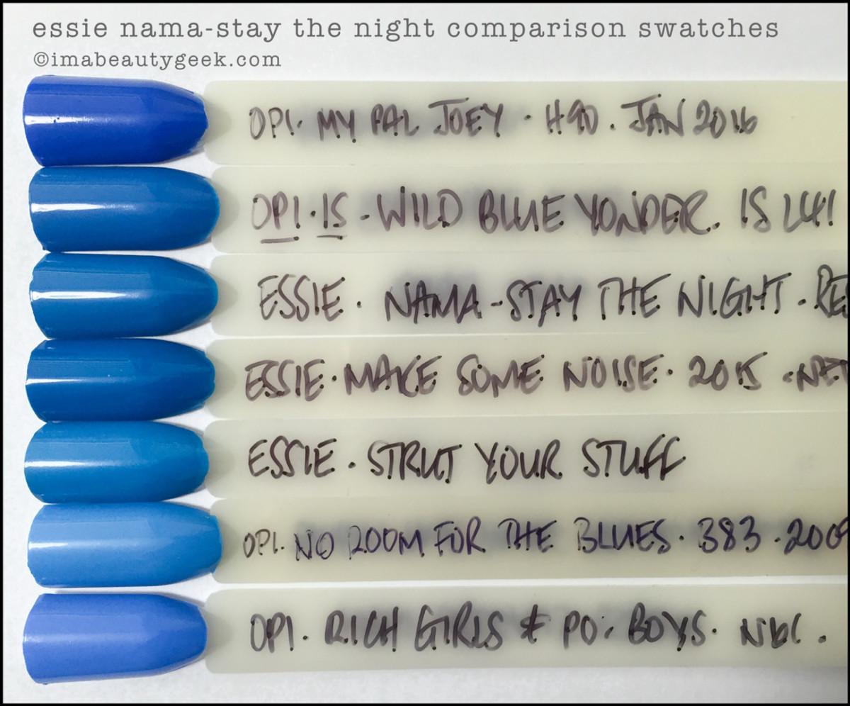 Essie Nama Stay the Night Comparison Dupes_Essie Resort 2016 Swatches