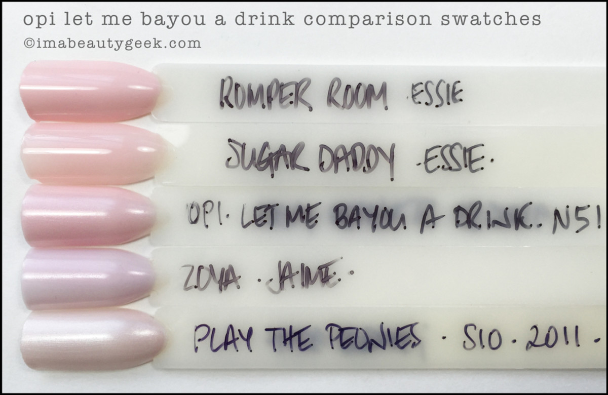 OPI Let Me Bayou a Drink Comparison Dupes_OPI New Orleans