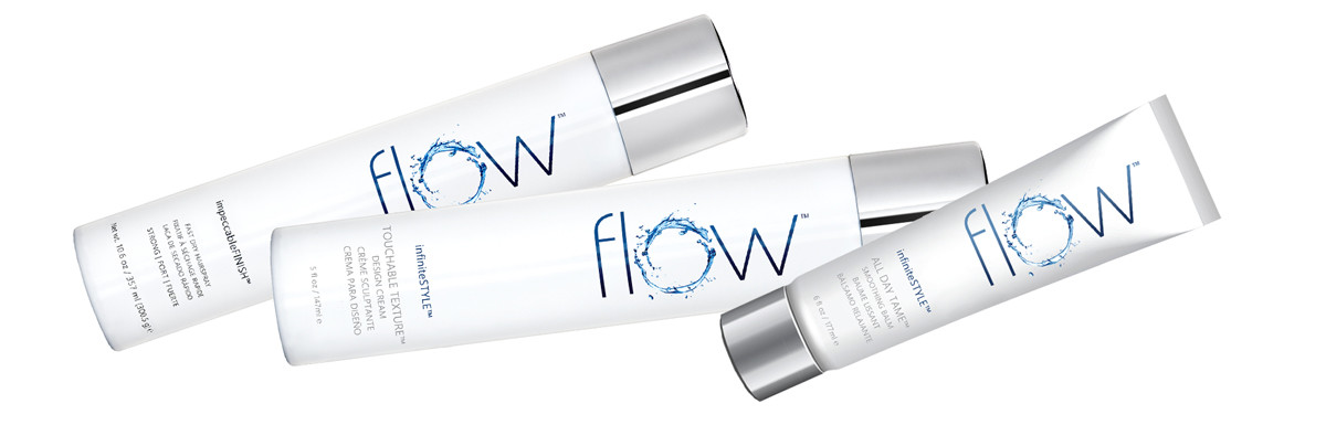 how to create textured waves: flow haircare products