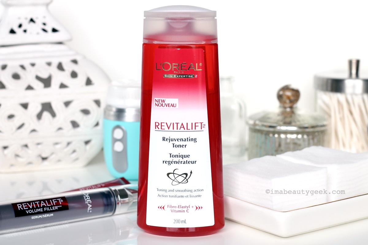 L'Oreal Paris Revitalift Rejuvenating Toner_moisturizes and softens skin. Love it.