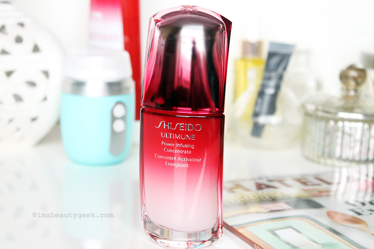 shiseido ultimune power infusing concentrate_does it work?