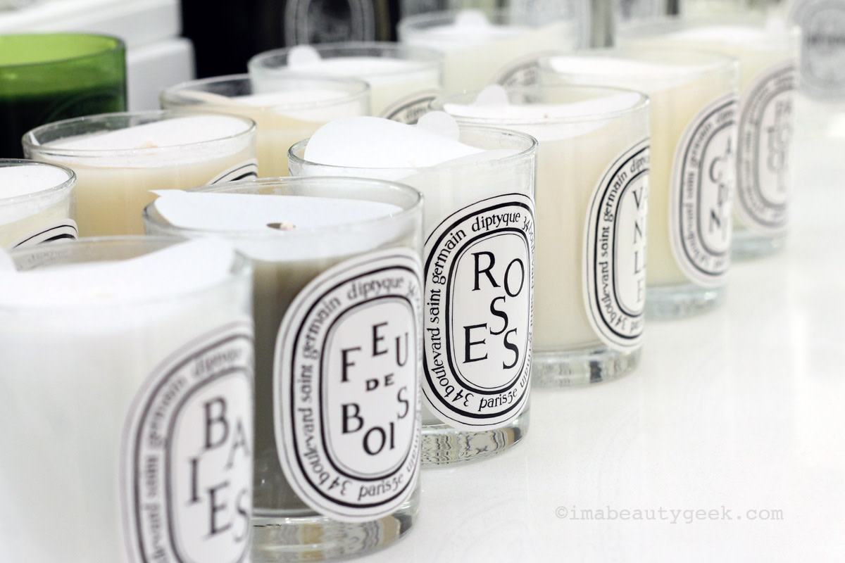 Diptyque candles await at Saks Fifth Avenue Queen St. W.