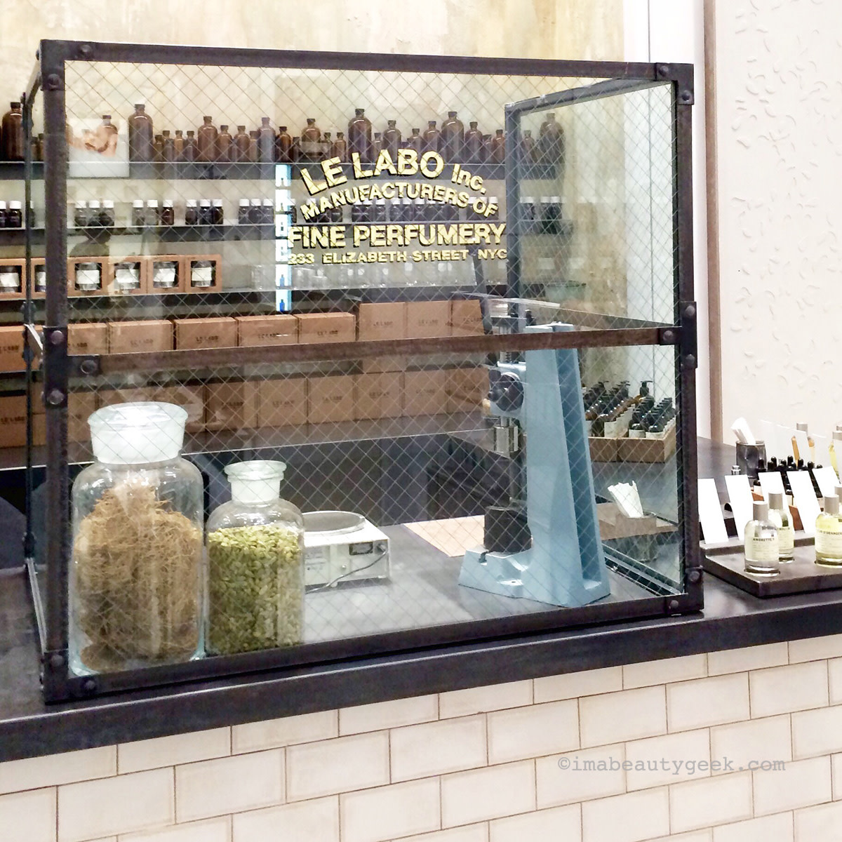 Le Labo at Saks Fifth Avenue on Queen St, Toronto.