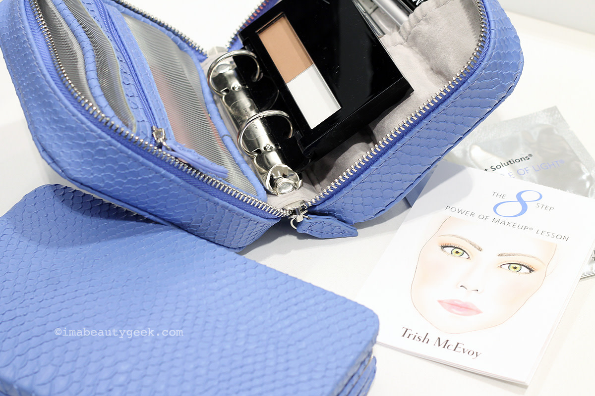 Trish McEvoy Makeup Planner and travel brush set for Spring 2014, available now at Saks Canada.