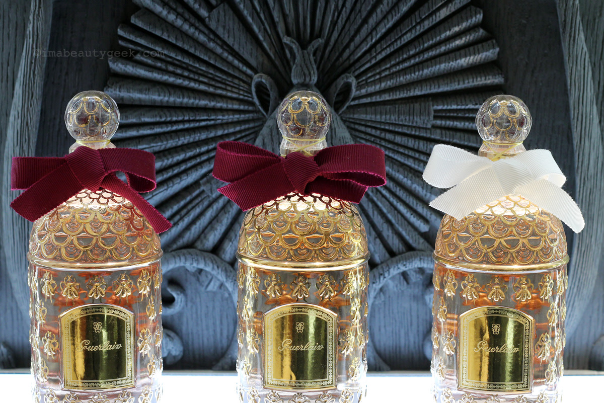 Guerlain at Saks Fifth Avenue Eaton Centre: the wall relief is beyond gorgeous – you have to go see!