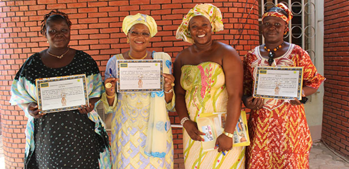 L'Occitane Pour Elles program in support of women's leadership in Burkino Faso