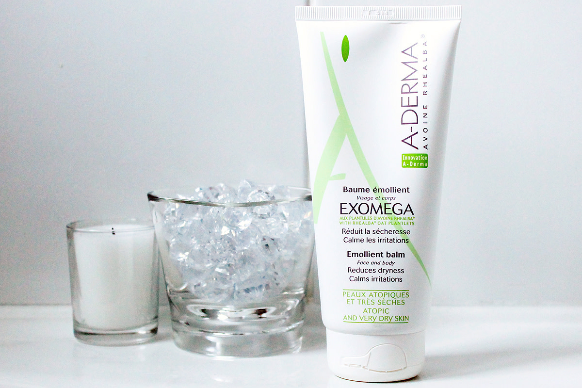Eczema skincare: A-Derma Exomega Emollient Balm is fragrance free and ultra-moisturizing without greasiness; it also comes in a lotion when you want a lighter texture for warm weather