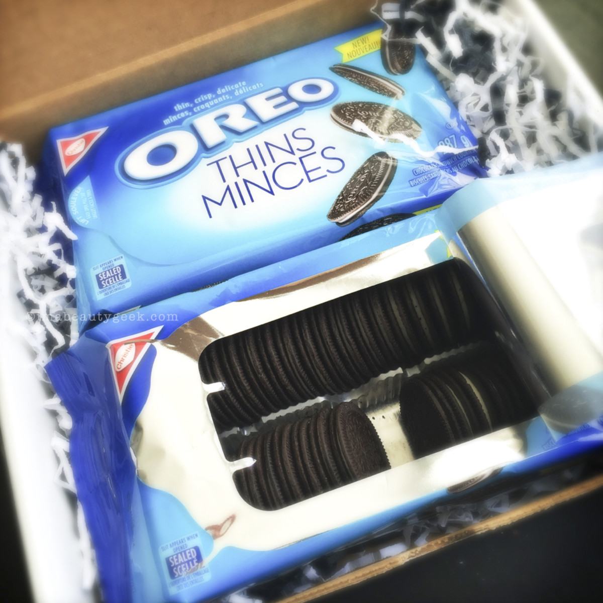 New Oreo thins boxed