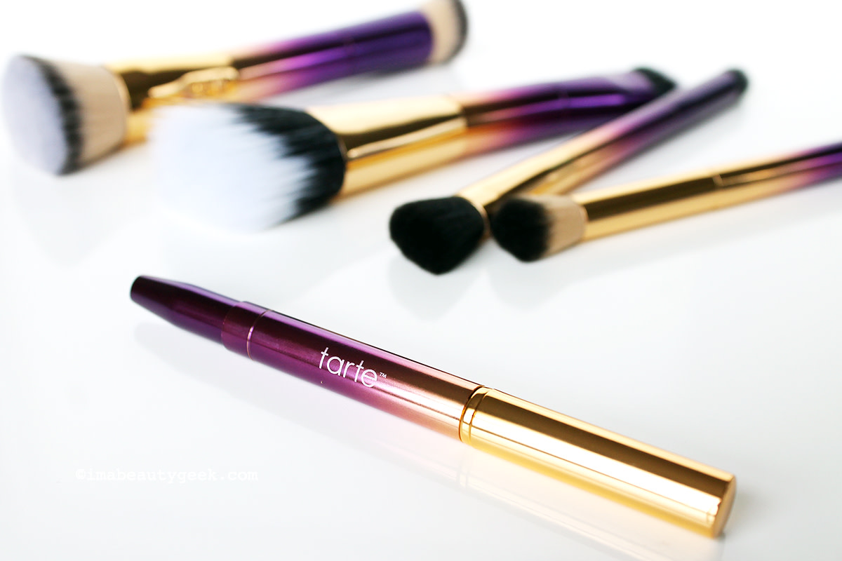 Tarte Rainforest of the Sea double-ended makeup brushes (sephora.ca) www.imabeautygeek.com