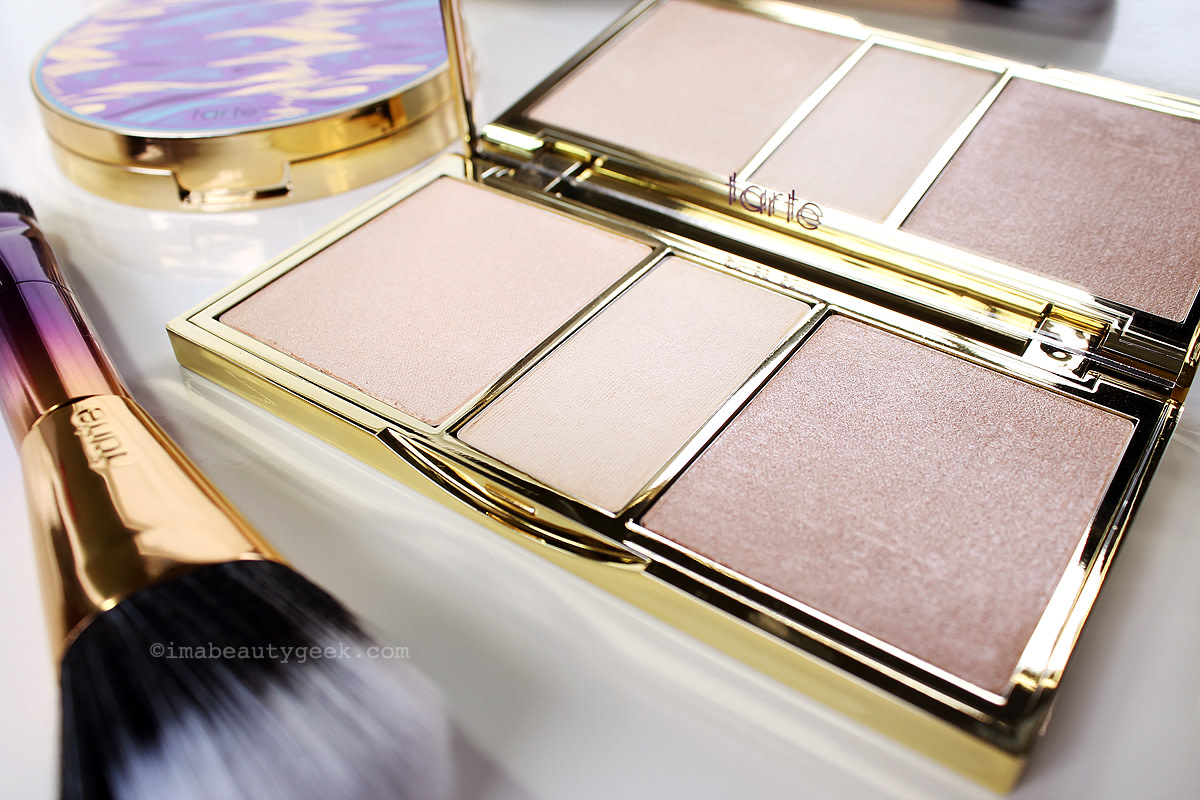 Tarte Rainforest of the Sea Twinkle Lighing  Kit highlighter, powder, highlighter (sephora.ca) www.imabeautygeek.com