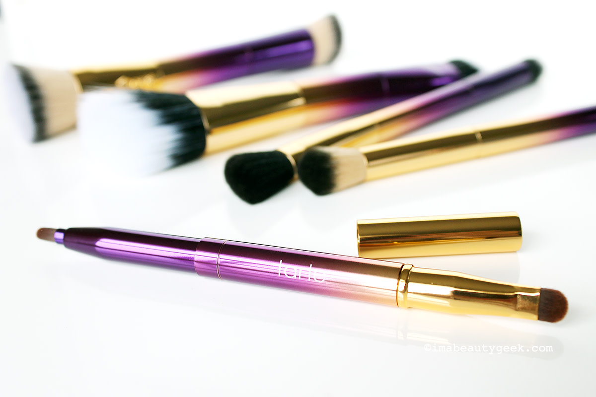 Tarte Rainforest of the Sea makeup brushes (at sephora.ca) www.imabeautygeek.com