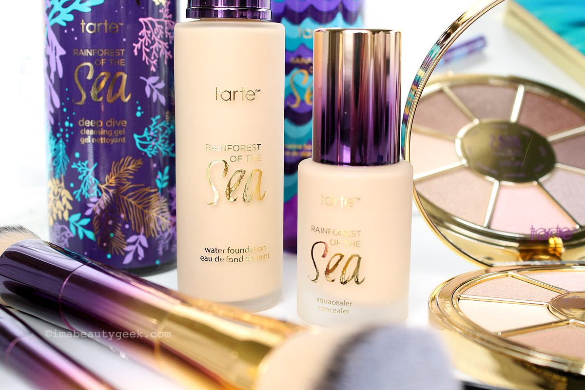 Tarte Rainforest of the Sea makeup and skincare collection (at sephora.ca) www.imabeautygeek.com