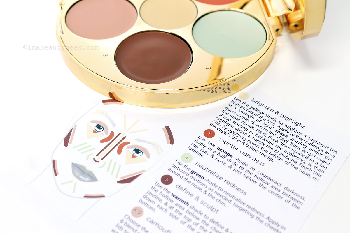 Tarte Rainforest of the Sea Wipeout Color Correcting Palette and how-to guide (sephora.ca) www.imabeautygeek.com