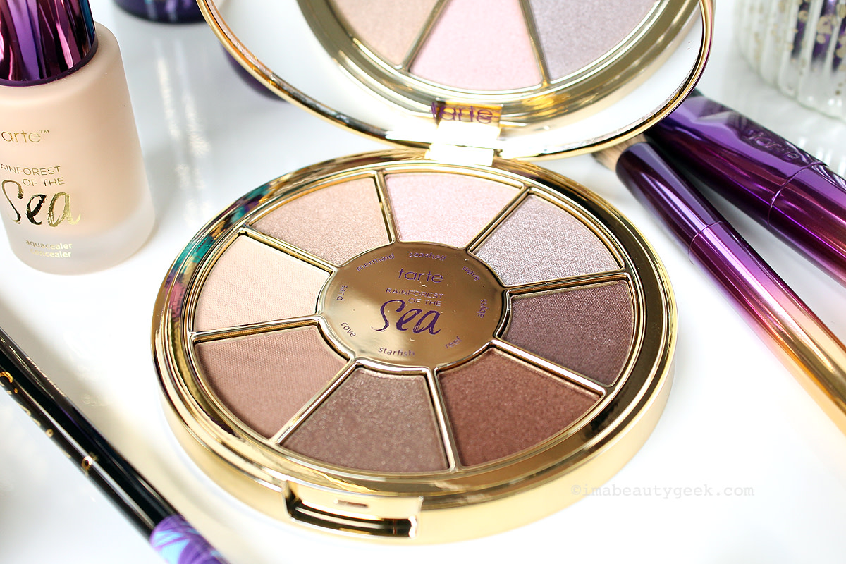 Tarte Rainforest of the Sea Eyeshadow Palette, exclusively at Sephora (sephora.ca)  www.imabeautygeek.com
