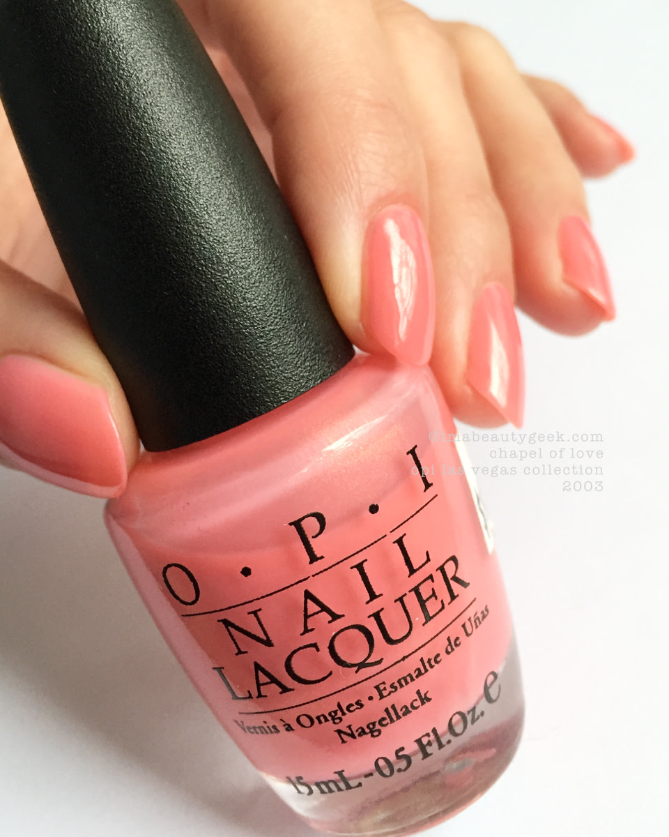 OPI Chapel of Love_Las Vegas Collection 2003
