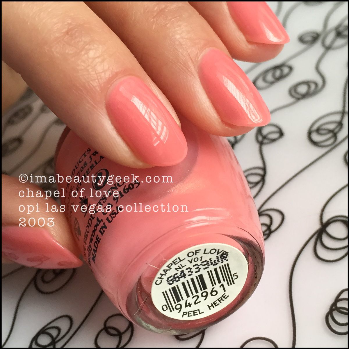 OPI Chapel of Love – OPI Las Vegas Collection 2003