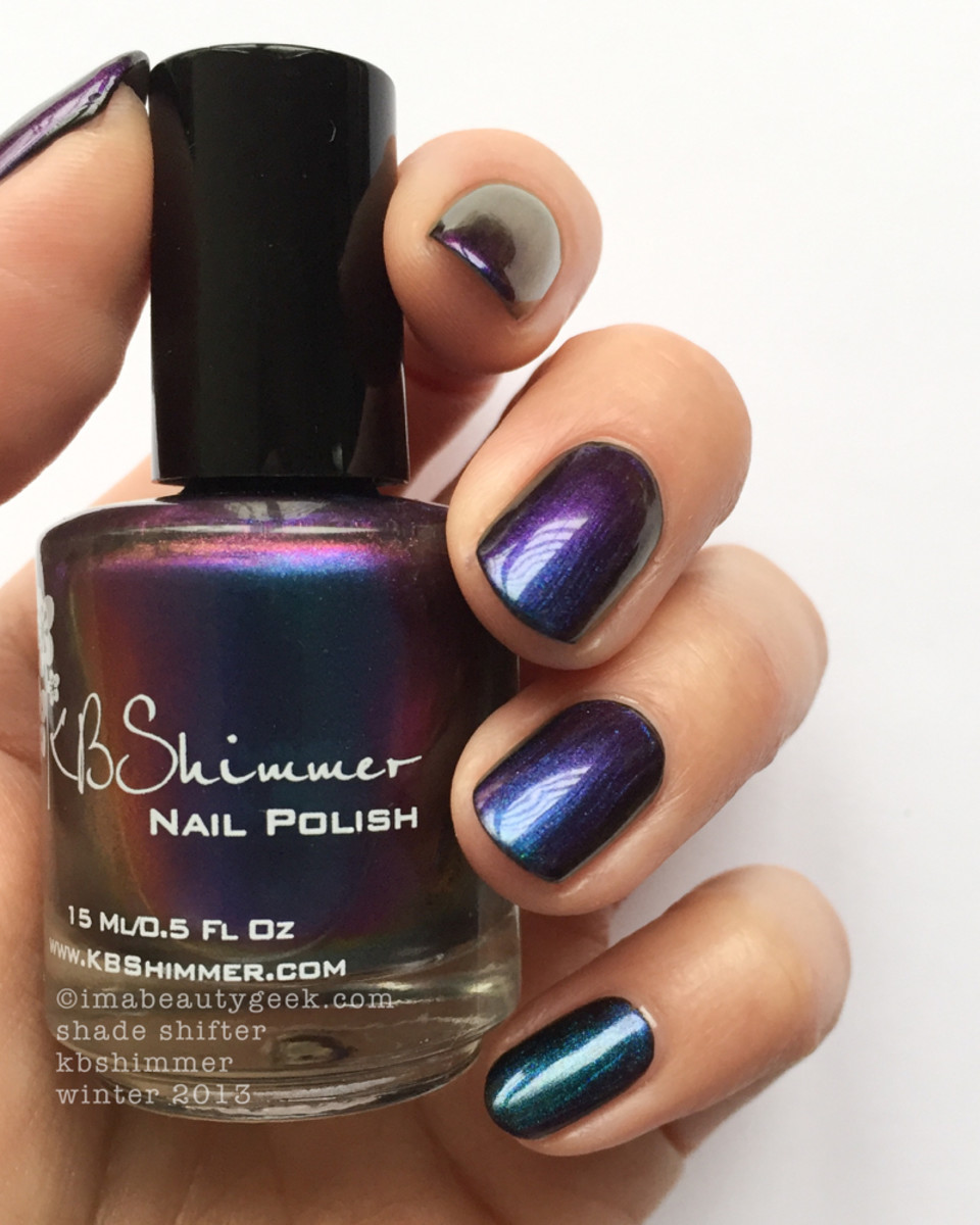 KBShimmer Multichrome Shade Shifter Winter 2013