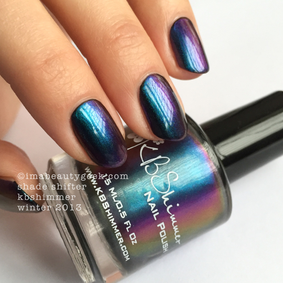 KBShimmer Shade Shifter Winter 2013