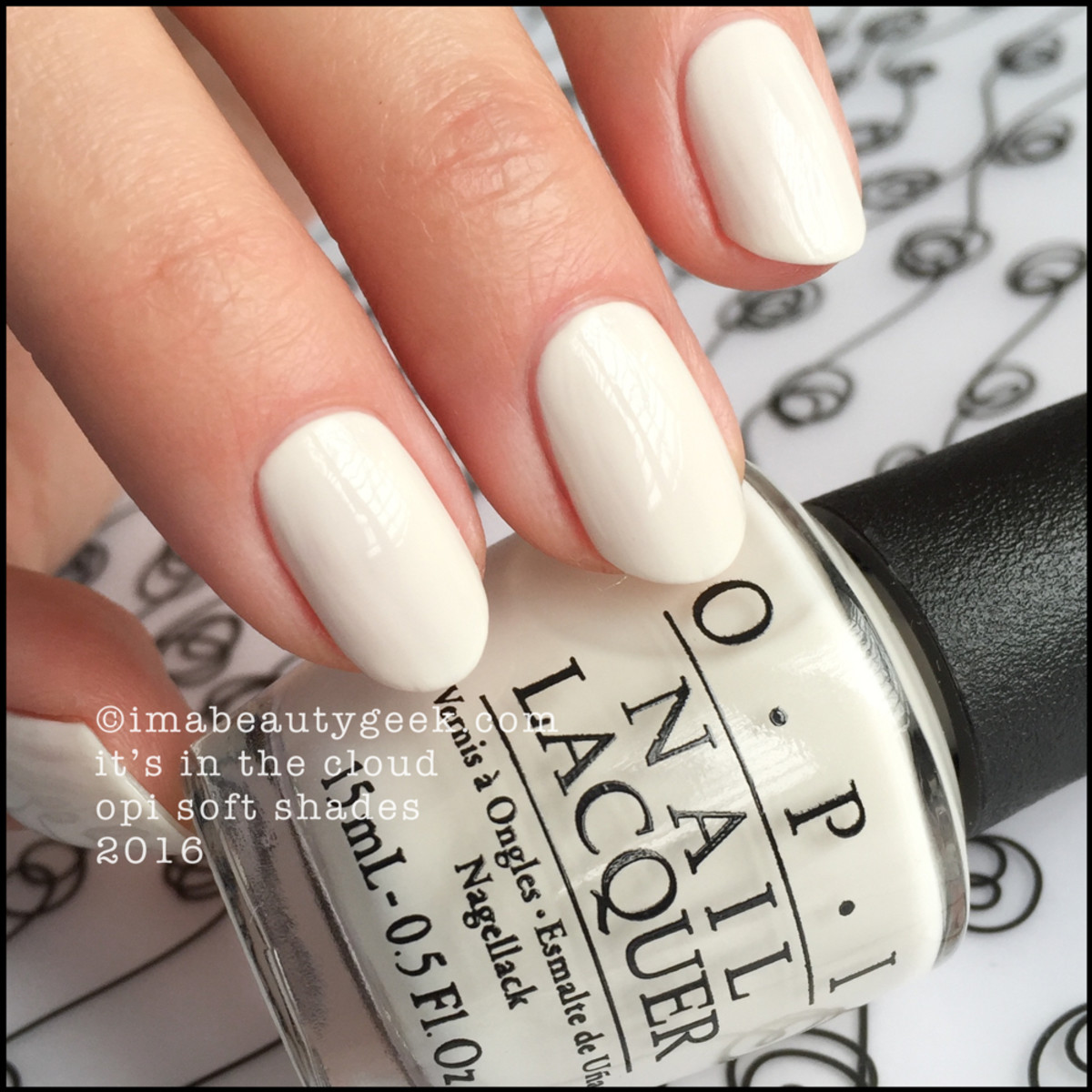 OPI Its In the Clouds_OPI Soft Shades 2016 Swatches Review