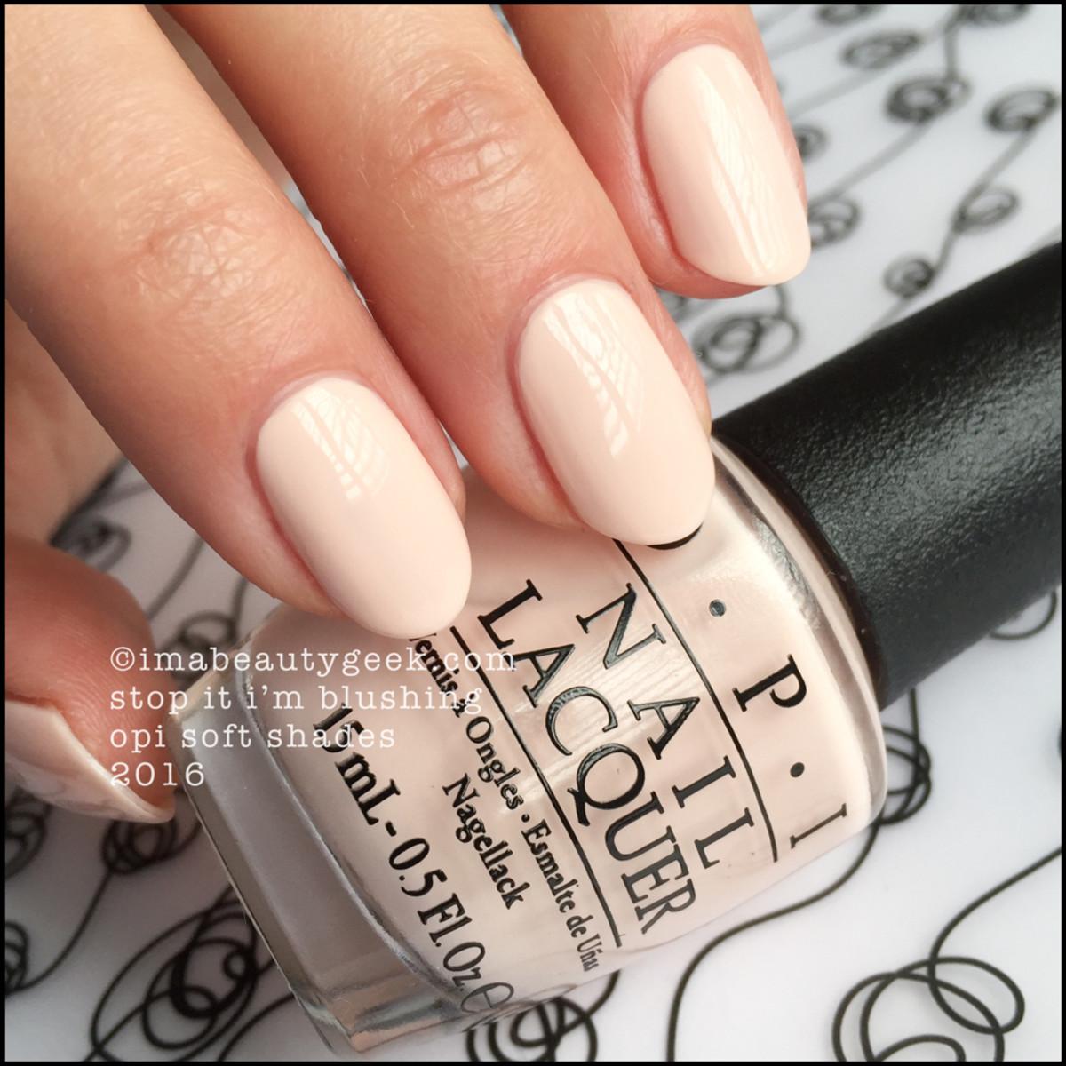 OPI Stop It Im Blushing_OPI Soft Shades 2016 Pastels Swatches