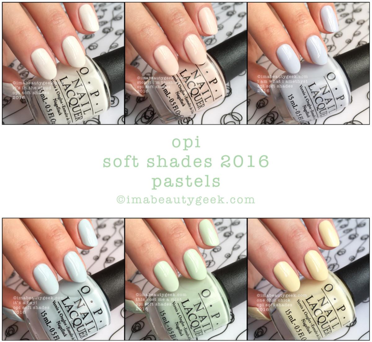 OPI Soft Shades 2016 Beautygeeks Composite - Version 2