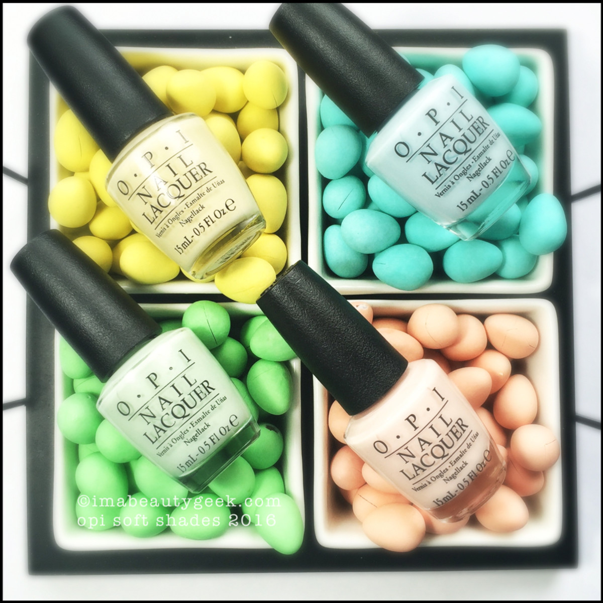 OPI Soft Shades 2016 Pastels Swatches Review