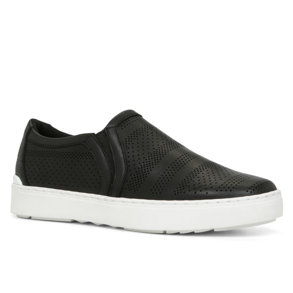 Aldo NAYWEN slip-on perforated-leather sneaker with rubber sole ($80 at aldo.com) – also in a nude