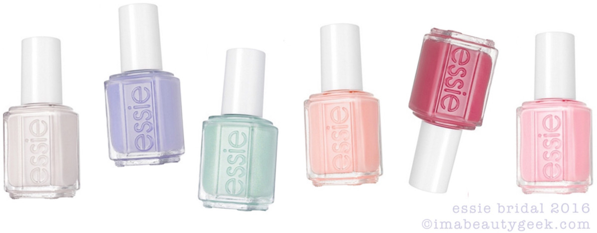 Essie Bridal 2016 Beautygeeks Sneak Peek